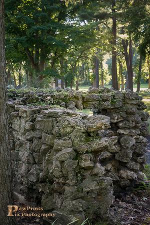 fayban park stone wall