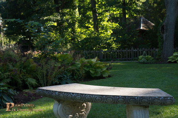 fayban park bench stone