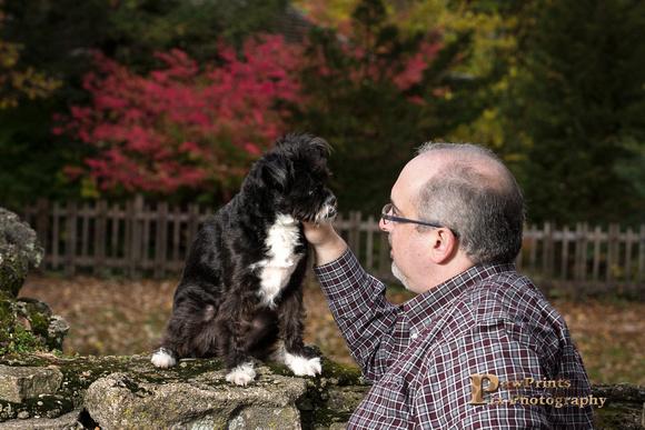 Dog Photo - Sammy and Rich
